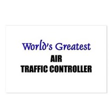 Worlds Greatest AIR TRAFFIC CONTROLLER Postcards (