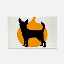 Chihuahua Halloween Rectangle Magnet (100 pack)