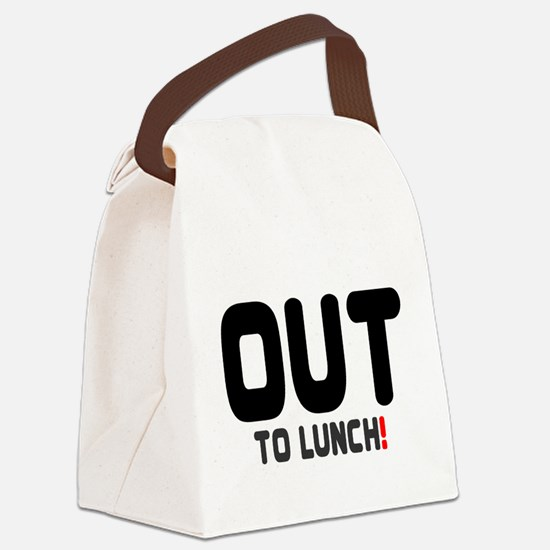 OUT TO LUNCH! Canvas Lunch Bag