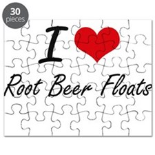 I love Root Beer Floats Puzzle