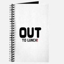 OUT TO LUNCH! Journal