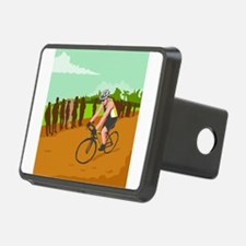Cyclist Racing WPA Hitch Cover