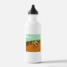 Cyclist Racing WPA Water Bottle
