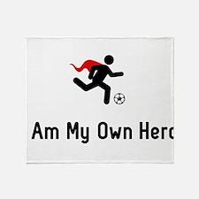 Soccer Hero Throw Blanket