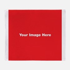 Your Image Here Throw Blanket