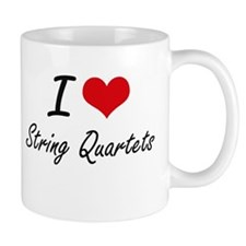 I love String Quartets Mugs