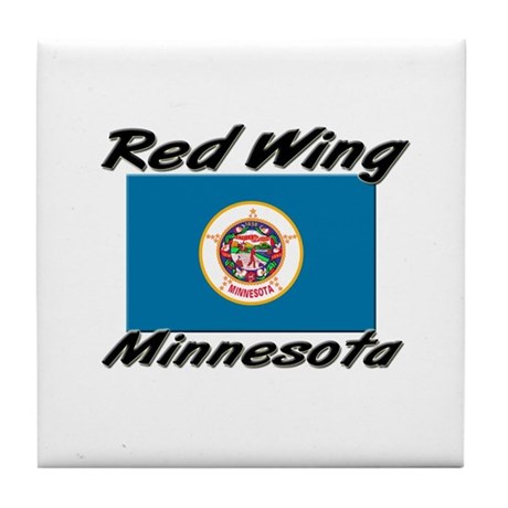 Red Wing Minnesota Tile Coaster