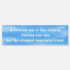 Imaginary Friends Bumper Bumper Bumper Sticker