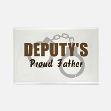 Deputy's Proud Father Rectangle Magnet