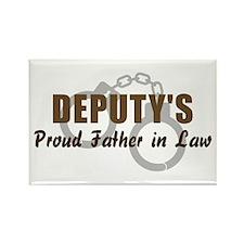Deputy's Proud FIL Rectangle Magnet
