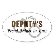 Deputy's Proud FIL Oval Decal