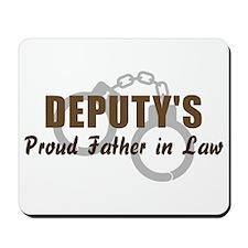 Deputy's Proud FIL Mousepad
