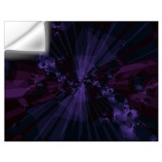 Shattered In Purple Wall Art Wall Decal