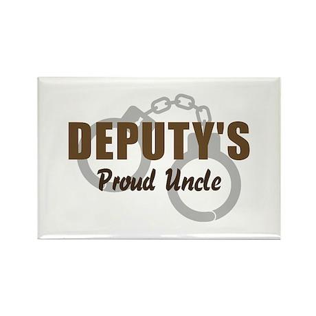 Deputy's Proud Uncle Rectangle Magnet
