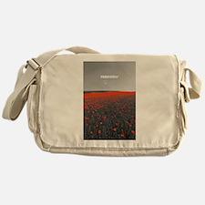 Poppy Field - Remember Messenger Bag