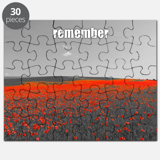 Poppy Field - Remember Puzzle