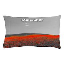 Poppy Field - Remember Pillow Case