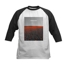 Poppy Field - Remember Baseball Jersey