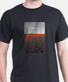 Poppy Field - Remember T-Shirt