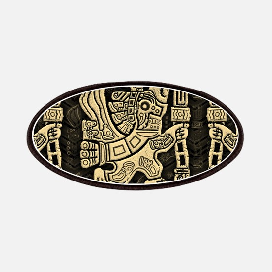 Aztec Eagle Warrior Patch