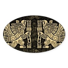 Aztec Eagle Warrior Decal