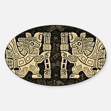 Aztec Eagle Warrior Decal