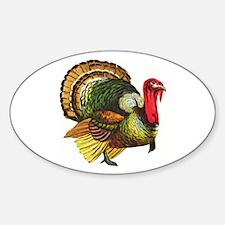 Thanksgiving Wild Turkey Decal