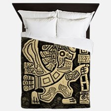 Aztec Eagle Warrior Queen Duvet