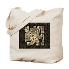 Aztec Eagle Warrior Tote Bag