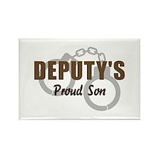 Deputy's Proud Son Rectangle Magnet