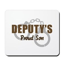 Deputy's Proud Son Mousepad