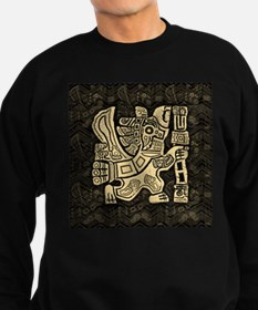 Aztec Eagle Warrior Sweatshirt