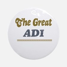 Adi Ornament (Round)