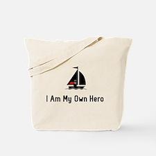 Sailing Hero Tote Bag