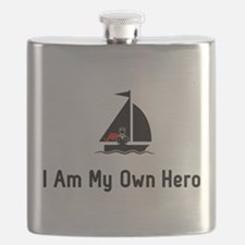 Sailing Hero Flask