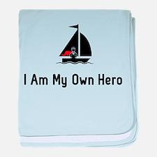 Sailing Hero baby blanket