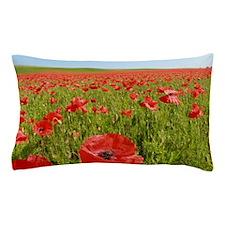 Poppy Field PRO PHOTO Pillow Case