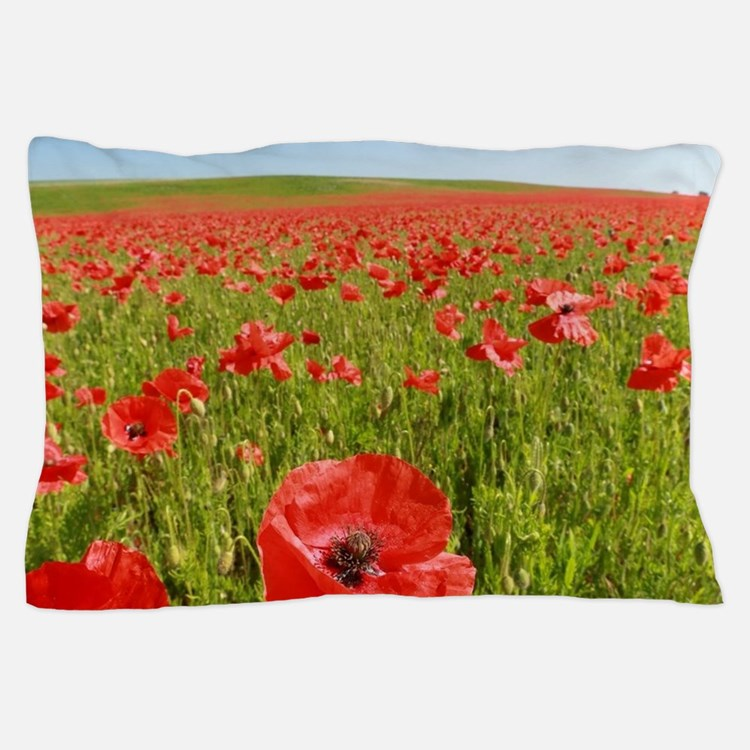 Poppy Field PRO PHOTO Pillow Case
