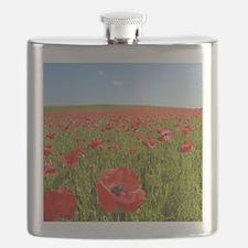 Poppy Field PRO PHOTO Flask