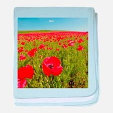 Poppy Field PRO PHOTO baby blanket