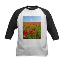 Poppy Field PRO PHOTO Baseball Jersey