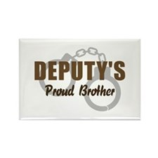 Deputy's Proud Brother Rectangle Magnet