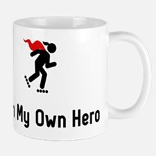 Rollerblading Hero Mug