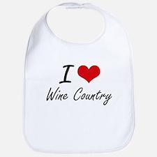 I love Wine Country Bib
