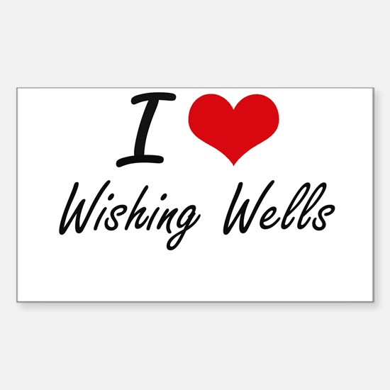I love Wishing Wells Decal