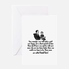 Funny Sons Greeting Card