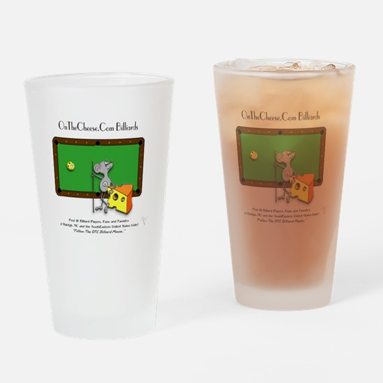 On The Cheese Billiard Mouse Drinking Glass