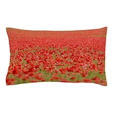 Poppy Field - Pro Photo Pillow Case