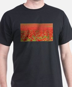 Poppy Field - Pro Photo T-Shirt