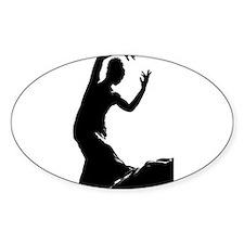 Flamenco dancer - bailaora Decal